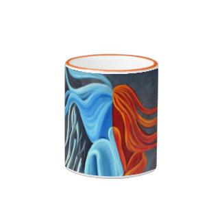 Fire N Ice Coffee Mug