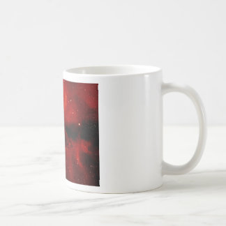 Fire nebula basic white mug