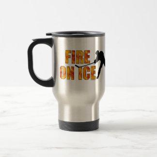 Fire on Ice Coffee Mugs