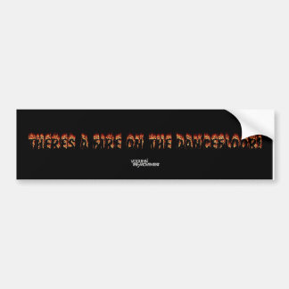 Fire On The Dancefloor - Vogue In The Movement Bumper Sticker