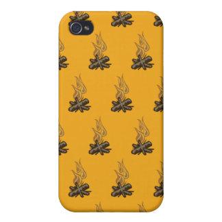 Fire Orange iPhone 4/4S Case