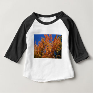 Fire Orange Tree Baby T-Shirt