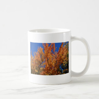 Fire Orange Tree Coffee Mug