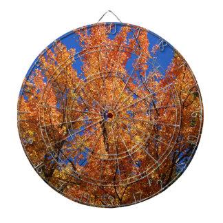 Fire Orange Tree Dartboard