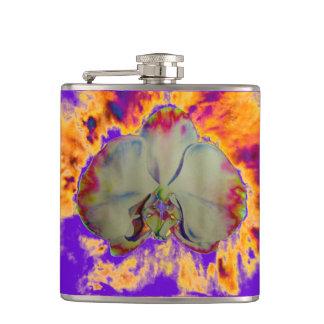 Fire Orchid - purple Flask