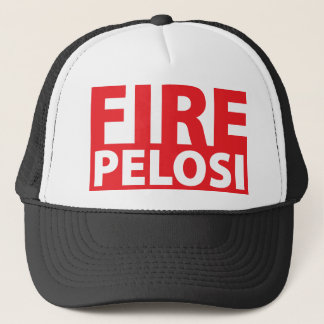 Fire Pelosi Trucker Hat