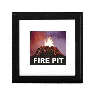 fire pit art gift box