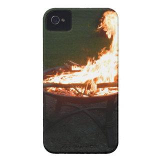 Fire pit bonfire image Case-Mate iPhone 4 case
