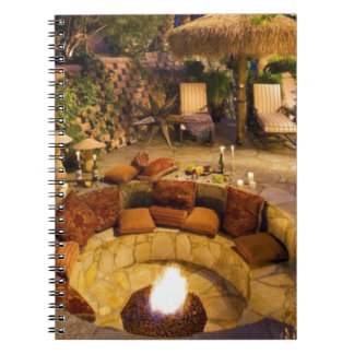 Fire Pit Notebook