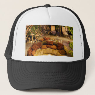 Fire Pit Trucker Hat