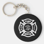 Fire Rescue Key Chains