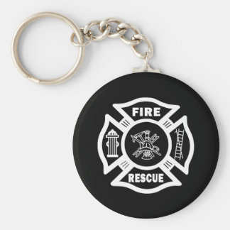 Fire Rescue Key Ring