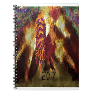 Fire Rooster 2017 Notebooks
