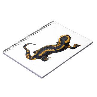 Fire Salamander Spiral Notebook