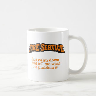 Fire Service / Problem Coffee Mug