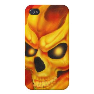 Fire Skull Speck Case iPhone 4 Case