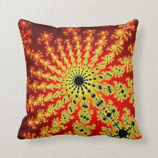Fire Spark Burst Pillow