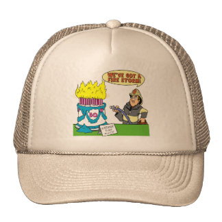 Fire Storm 50th Birthday Gifts Cap