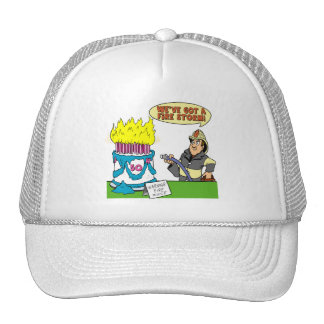 Fire Storm 50th Birthday Gifts Trucker Hat