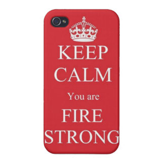Fire Strong iPhone 5 Case