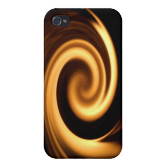 Fire Swirl Covers For iPhone 4