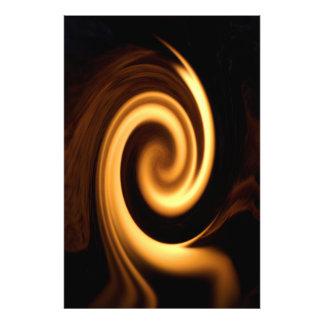 Fire Swirl Photograph