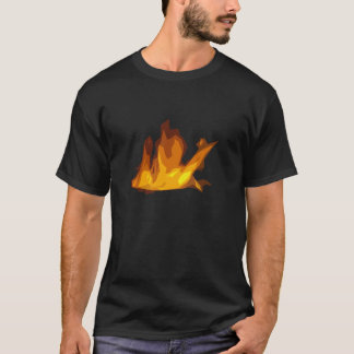 Fire T-Shirt - Black