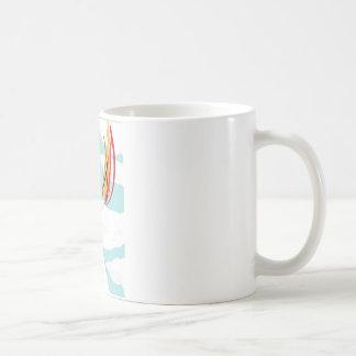 Fire & Toilet Paper Gorilla Basic White Mug