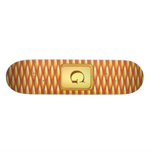 Fire Tones Webbing Skate Boards