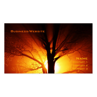 Fire Tree Business Card Templates