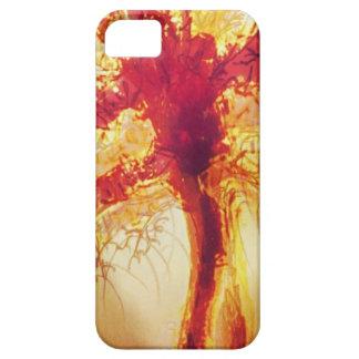 Fire Tree Phone Case