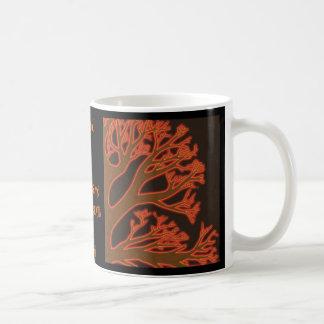 Fire Tree-Poetry Mug