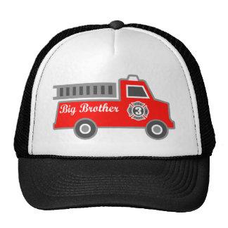 Fire Truck Big Brother Cap