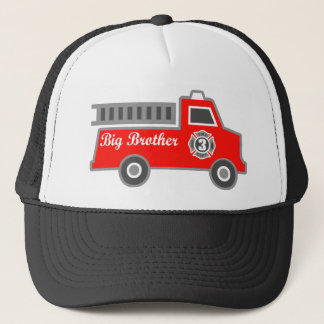 Fire Truck Big Brother Trucker Hat