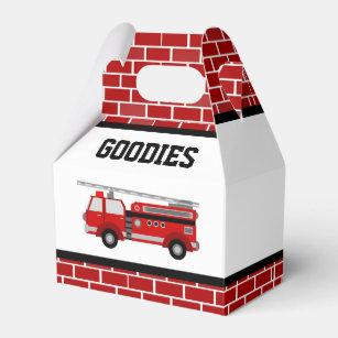 Red Birthday Favour Boxes Zazzle Com Au