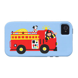 Fire Truck iPhone 4/4S Covers
