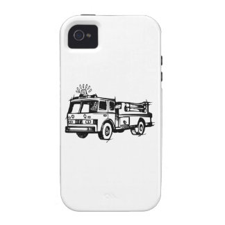 Fire Truck iPhone 4 Covers