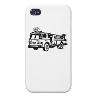 Fire Truck iPhone 4 Cover