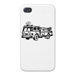 Fire Truck Case For iPhone 4
