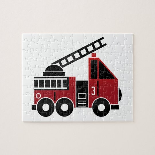 Fire truck jigsaw pzzle jigsaw puzzle