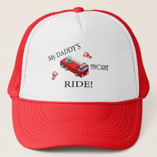 Fire truck - My daddy's favorite RIDE Trucker Hat