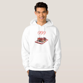 Fire Truck On Mobile Phone 000 Logo, Hoodie