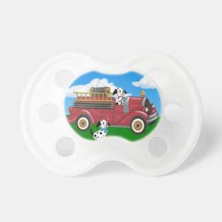 Fire truck pacifier