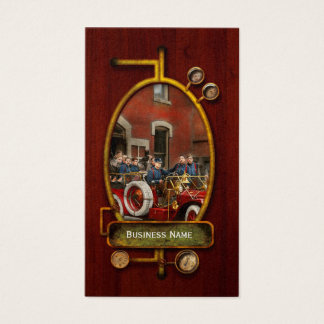 Fire Truck - The flying squadron 1911 Business Card