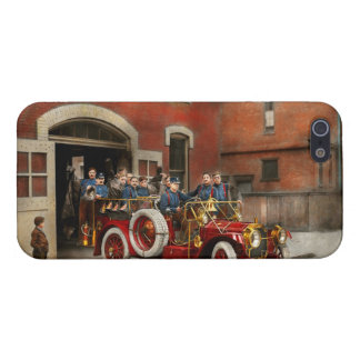 Fire Truck - The flying squadron 1911 iPhone 5/5S Cases
