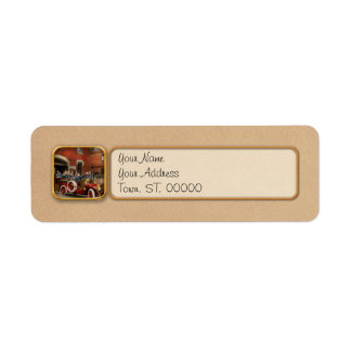 Fire Truck - The flying squadron 1911 Return Address Label