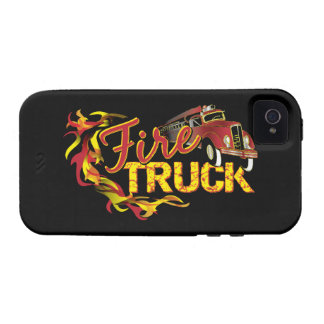 Fire Truck Tough Universal Case Case For The iPhone 4