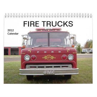 Fire Trucks - 2012 Calendar