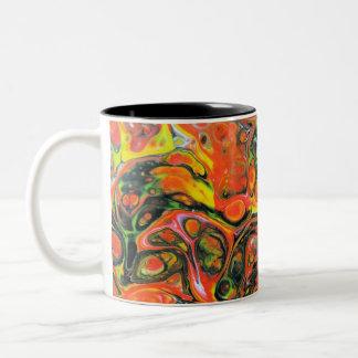 Fire Two-Tone Coffee Mug