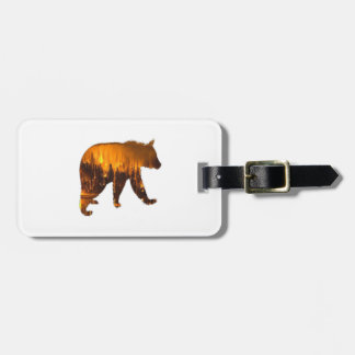 Fire Walker Luggage Tag